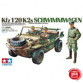 GERMAN SCHWIMMWAGEN Kfz.1 20K2s TAMIYA 35003