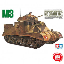 M3 GRANT Mk I BRITISH ARMY MEDIUM TANK TAMIYA 35041