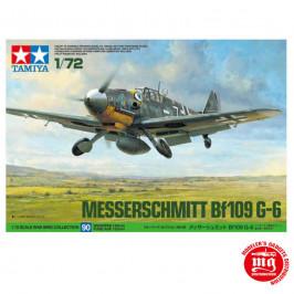 MESSERSCHMITT Bf109 G-6 TAMIYA 60790