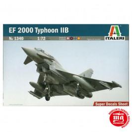 EF 2000 TYPHOON IIB ITALERI 1340