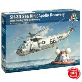 SH 3D SEA KING APOLLO RECOVERY ITALERI 1433