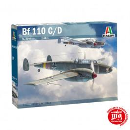 MESSERSCHMITT Bf 110 C/D ITALERI 2794