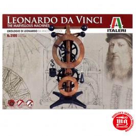 LEONARDO DA VINCI DA VINCI´S CLOCK ITALERI 3109