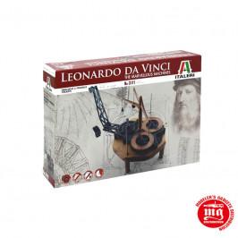 LEONARDO DA VINCI FLYING PENDULUM CLOCK ITALERI 3111