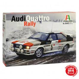 AUDI QUATTRO RALLY ITALERI 3642