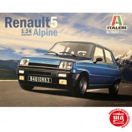 RENAULT 5 ALPINE ITALERI 3651