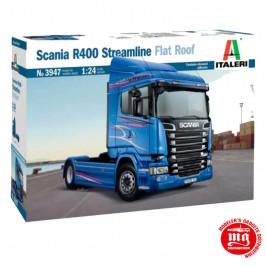 SCANIA R400 STREAMLINE FLAT ROOF ITALERI 3947