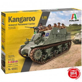 KANGAROO ARMORED PERSONNEL CARRIER ITALERI 6551