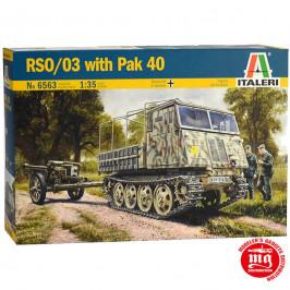 RSO/03 WITH Pak 40 ITALERI 6563