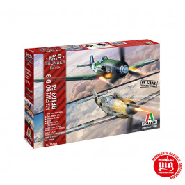 BF109 F-4 AND FW190 D9 ITALERI 35101