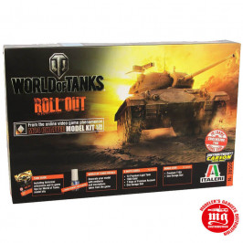 US M24 CHAFFEE WORLD OF TANKS ITALERI 36504