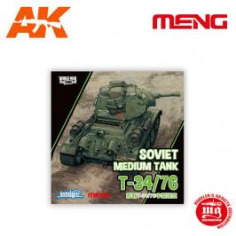 SOVIET MEDIUM TANK T-34/76 MENG WWT-006