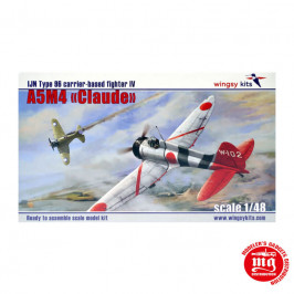A5M4 CLAUDE IJN TYPE 96 CARRIER BASED FIGHTER IV WINGSY KITS D5-02