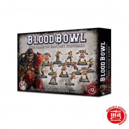 THE DOOM LORDS CHAOS CHOSEN BLOOD BOWL TEAM