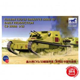 ITALIAN CV3/33 TANKETTE SERIE II EARLY PRODUCTION BRONCO CB 35006