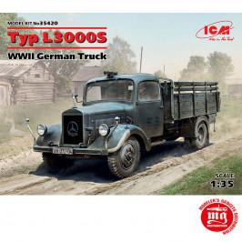 TYP L3000S WWII GERMAN TRUCK ICM 35420