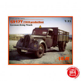 G9 17T 1939 PRODUCTION GERMAN ARMY TRUCK ICM 35413