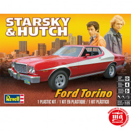 STARSKY AND HUTCH FORD TORINO REVELL 85-4023