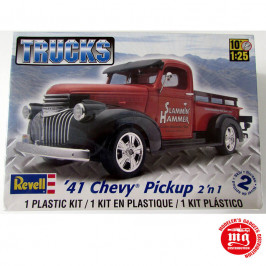 41 CHEVY PICKUP 2 IN 1 REVELL 85-7202