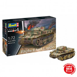PzKpfw II Ausf L LUCHS Sd.Kfz.123 REVELL 03266