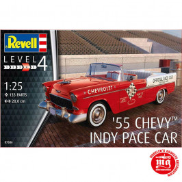 55 CHEVY INDY PACE CAR REVELL 07686