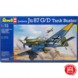 JUNKERS Ju 87 G/D TANK BUSTER REVELL 04692