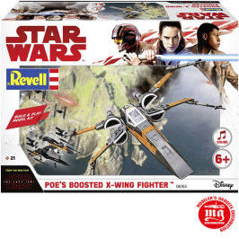 POE´S BOOSTED X WING FIGHTER REVELL 06763