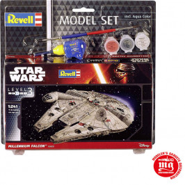 MILLENNIUM FALCON MODEL SET REVELL 03600