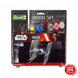 TIE FIGHTER MODEL SET REVELL 03605 MODELE SET