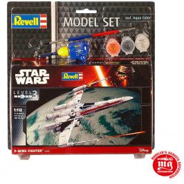 X WING FIGHTER MODEL SET REVELL 03601 MODEL SET