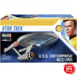 USS ENTERPRISE NCC-1701 STAR TREK REVELL 04991