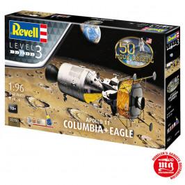 APOLLO 11 COLUMBIA MAS EAGLE REVELL 03700