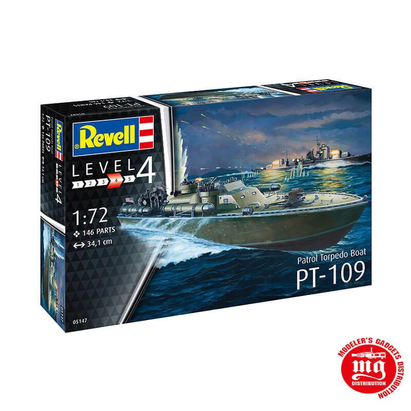 PT-109 PATROL TORPEDO BOAT REVELL 05147