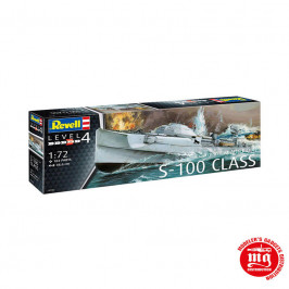 S-100 CLASS GERMAN FAST ATTACK CRAFT REVELL 05162