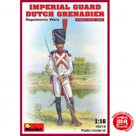 IMPERIAL GUARD DUTCH GRENADIER MINIART 16018