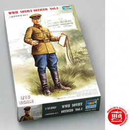 WWII SOVIET OFFICER VOL.1 TRUMPETER 00703
