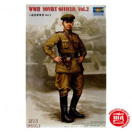 WWII SOVIET OFFICER VOL.2 TRUMPETER 00704