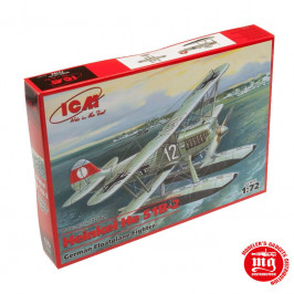HEINKEL He 51B-2 GERMAN FLOATPLANE FIGHTER ICM 72192