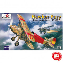 HAWKER FURY SPANISH AIR FORCE 1939 AMODEL 72139