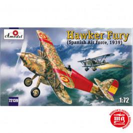 HAWKER FURY SPANISH AIR FORCE 1939 AMODEL 72139