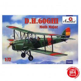 D.H. 60GIII MOTH MAJOR AMODEL 72283