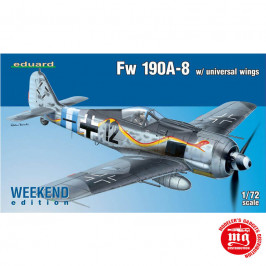 Fw 190A-8 WITH UNIVERSAL WINGS EDUARD 7443