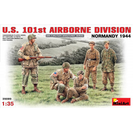 US 101st AIRBORNE DIVISION NORMANDY 1944 MINIART 35089