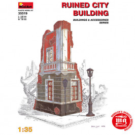 RUINED CITY BUILDING MINIART 35519