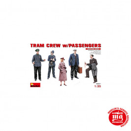 TRAM CREW WITH PASSENGERS MINIART 38007