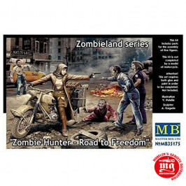 ZOMBIELAND SERIES ZOMBIE HUNTER ROAD TO FREEDOM MB35175