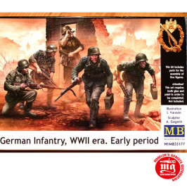GERMAN INFANTRY WWII ERA EARLY PERIOD