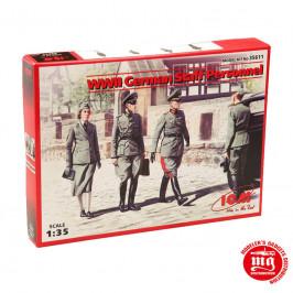 WWII GERMAN STAFF PERSONNEL ICM 35611