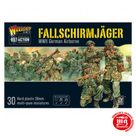 FALLSCHIRMJAGER WWII GERMAN AIRBORNE WARLORD WGB FJ 02