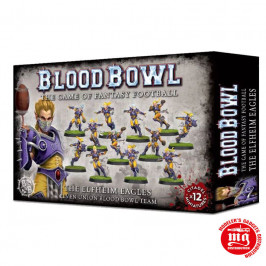 THE ELFHEIM EAGLES ELVEN UNION BLOOD BOWL TEAM 200-36
